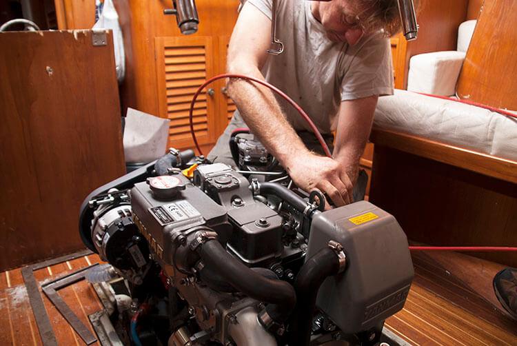 motoren vervanging
