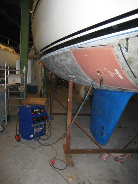 Onderhoud onderwaterschip